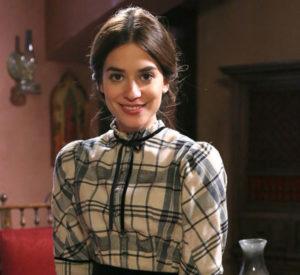 La actriz Alejandra Meco encarna a Teresa Sierra, protagonista de Acacias 38